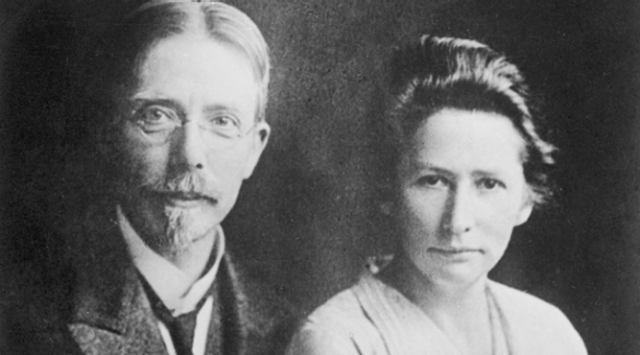 Novo Nordisk founders - August and Marie Krogh (1874-1949) (1874-1943)